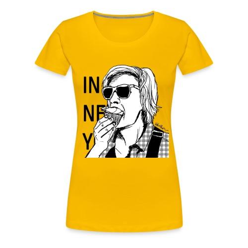 Frauen Premium T-Shirt - IN NEW YORK von Helen Bucher