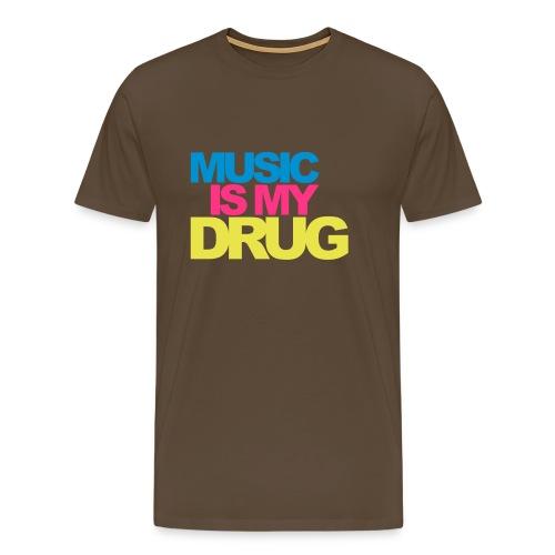 Music Drug Shirt - Männer Premium T-Shirt