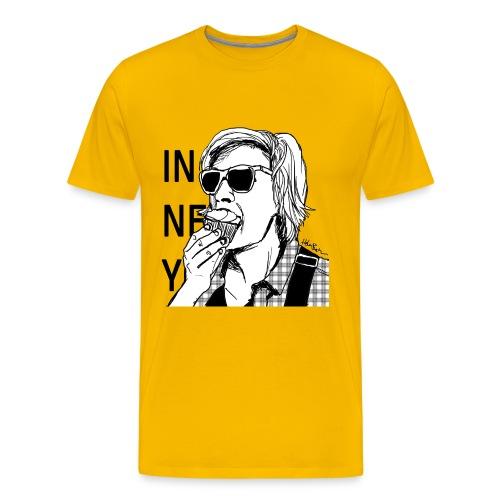 Männer Premium T-Shirt - IN NEW YORK von Helen Bucher