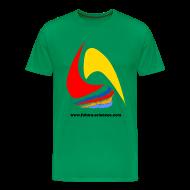 Tee shirts ~ T-shirt Premium Homme ~ Futura-Sciences homme vert mousse