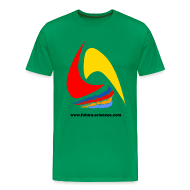 Tee shirts ~ Tee shirt Premium Homme ~ Futura-Sciences homme vert mousse