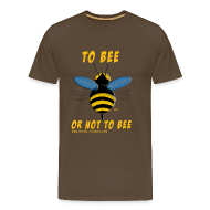 Tee shirts ~ T-shirt Premium Homme ~ To bee homme marron