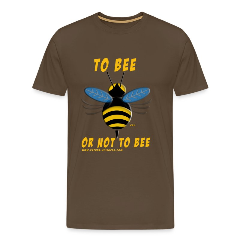 To bee homme marron - T-shirt Premium Homme