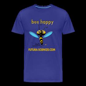 Bee happy homme bleu royal ~ 1850