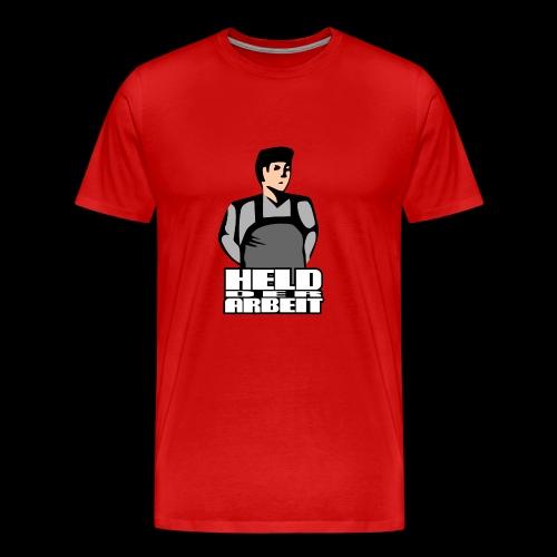 Held der Arbeit - Koszulka męska Premium
