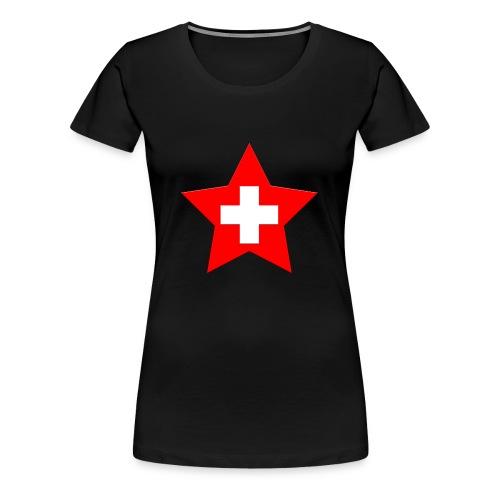 Swiss Star - Frauen Premium T-Shirt