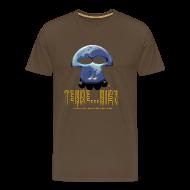 Tee shirts ~ T-shirt Premium Homme ~ Terrien homme marron
