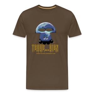 Terrien homme marron - T-shirt Premium Homme