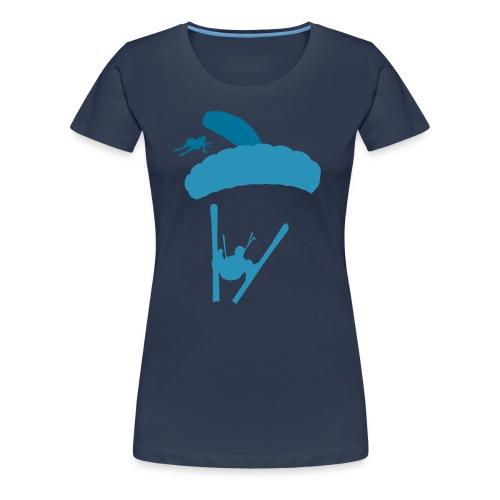 Speedflying - Frauen Premium T-Shirt