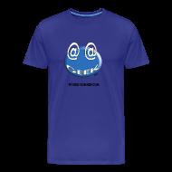 Tee shirts ~ Tee shirt Premium Homme ~ Geek homme bleu bleu ciel