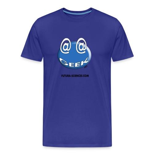 Geek homme bleu bleu ciel - T-shirt Premium Homme