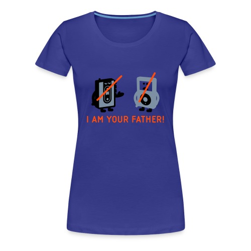 DARTH VADER VS POD - Frauen T-Shirt - Frauen Premium T-Shirt