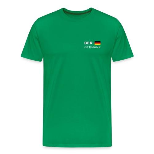 Classic T-Shirt BER GERMANY GF white-lettered - Men's Premium T-Shirt