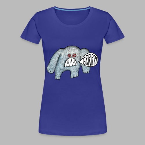 with added GRRRR!!! - Women's Premium T-Shirt