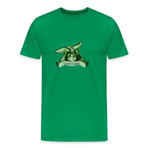 Männer Premium T-Shirt - gesichttragödie