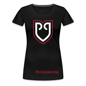 Rollapaluza official tee shirt Womens black - Frauen Premium T-Shirt