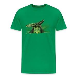 Männer Premium T-Shirt - puperze,scherze