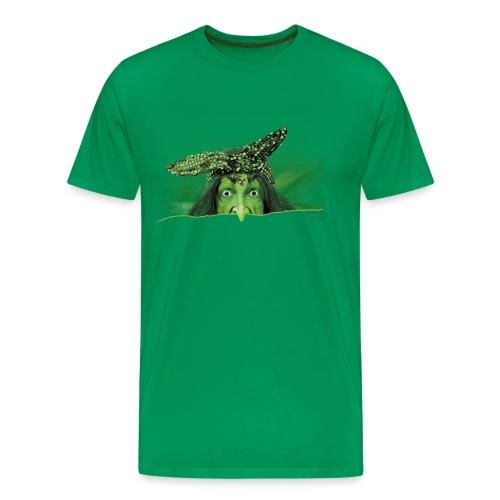 Männer Premium T-Shirt - scherze,puperze