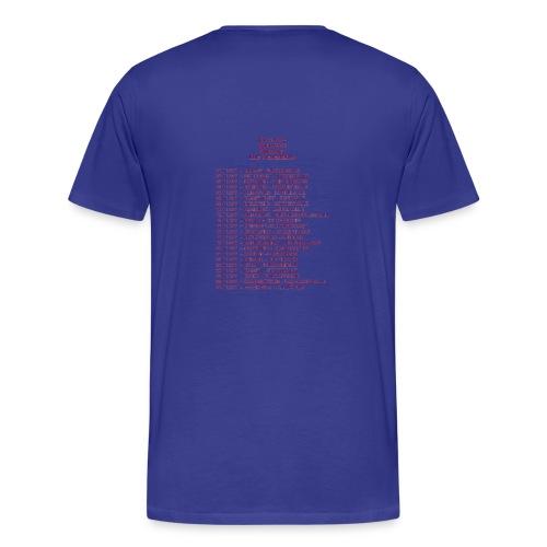 NK Tourshirt Men - Men's Premium T-Shirt