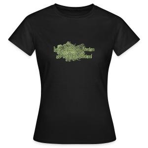 Frauen T-Shirt - Dreck,Stecken