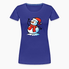 Snowman Waving T-Shirts