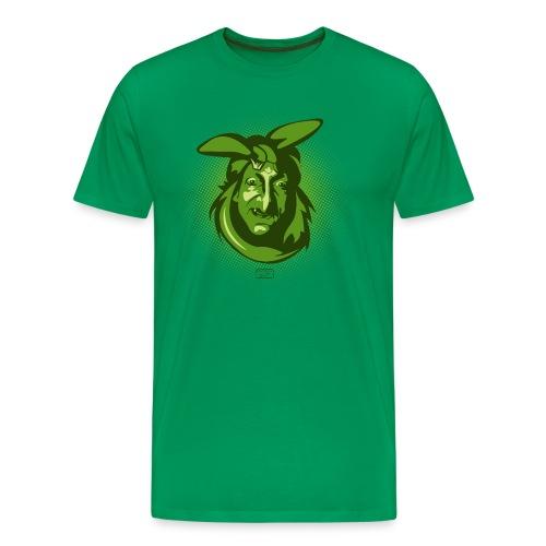 Männer Premium T-Shirt - gesicht