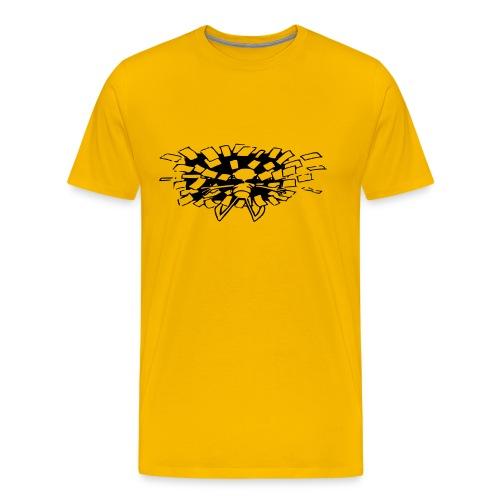 Anslagstavlan shoo - Premium-T-shirt herr