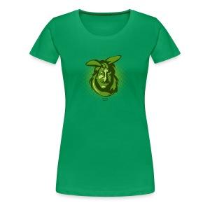 Frauen Premium T-Shirt - Gesicht,Portrait