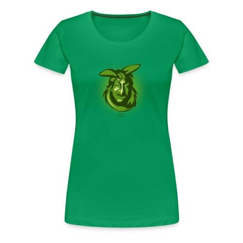 Frauen Premium T-Shirt - Portrait,Gesicht