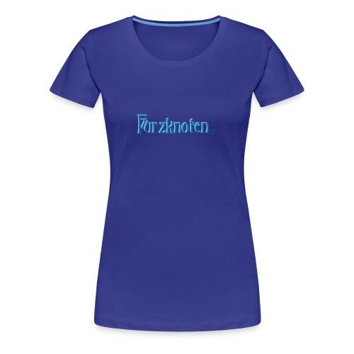Frauen Premium T-Shirt - Furzknoten