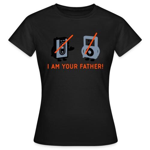 DARTH VADER VS POD - Frauen T-Shirt / Girlieshirt - Frauen T-Shirt