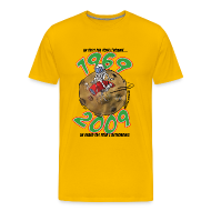 Tee shirts ~ Tee shirt Premium Homme ~ Conquête espace homme jaune