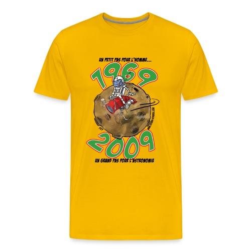 Conquête espace homme jaune  - T-shirt Premium Homme
