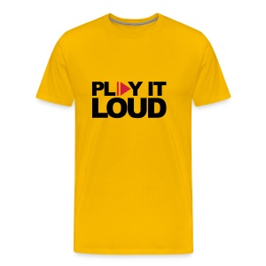 Play it loud Shirt - Männer Premium T-Shirt
