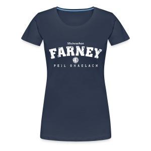 Vintage Monaghan Football T-Shirt - Women's Premium T-Shirt