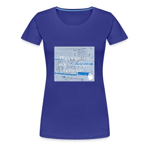 Happiness is a warm Analogue Synthesizer T-Shirt - Women's Premium T-Shirt