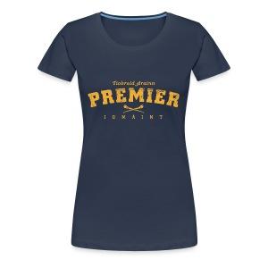Vintage Tipperary Hurling T-Shirt - Women's Premium T-Shirt