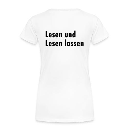 Kneipenlesung Klassisch Hell Girl - Frauen Premium T-Shirt