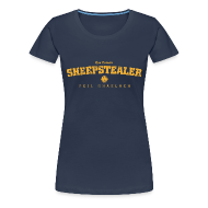 T-Shirts ~ Women's Premium T-Shirt ~ Vintage Roscommon Sheepstealer Football T-Shirt