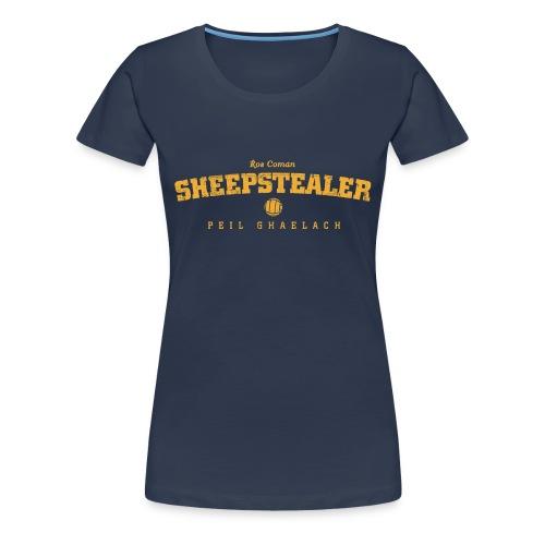Vintage Roscommon Sheepstealer Football T-Shirt - Women's Premium T-Shirt