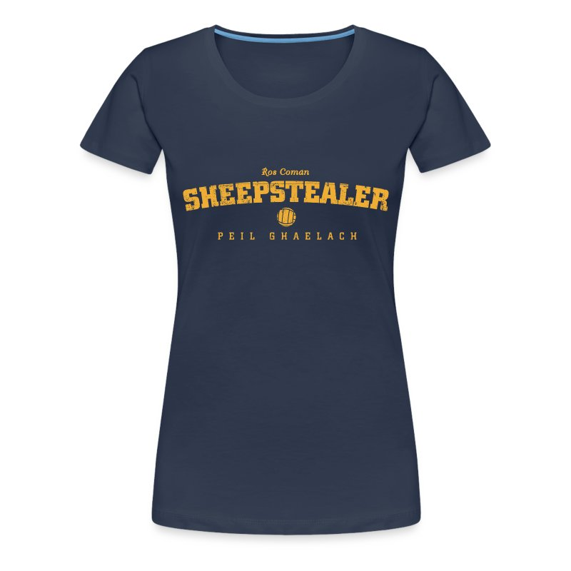 Vintage Roscommon Sheepstealer Football T-Shirt - Women's Premium T-Shirt