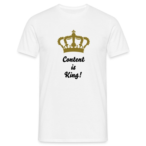 Content King - Men's T-Shirt