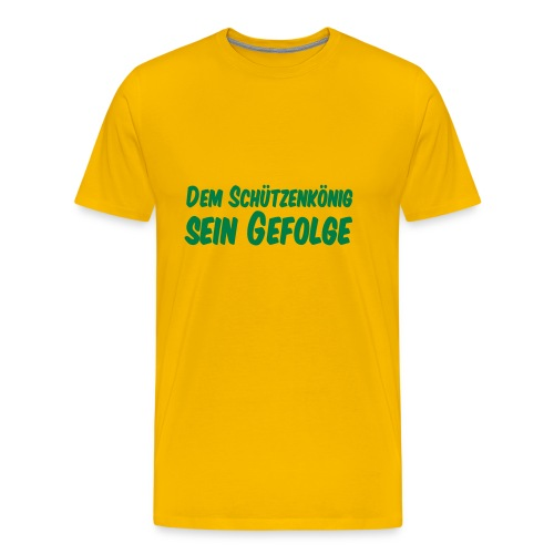 Gefolge - Männer Premium T-Shirt