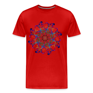 Triplag Music mandala - Men's Premium T-Shirt