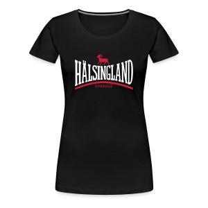 HÄLSINGLAND T-shirts - Premium-T-shirt dam