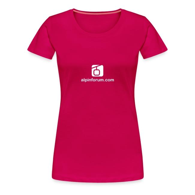 T-Shirt Lady rubinrot