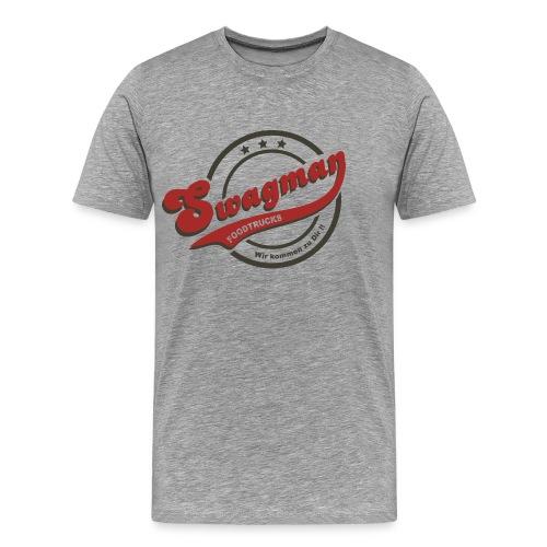 Swagman  Logo-T  Herren, Basic Fit - Männer Premium T-Shirt