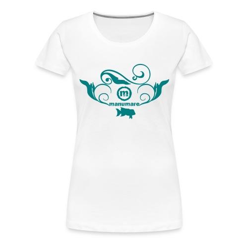 manumare-Frauen Girlieshirt - Frauen Premium T-Shirt