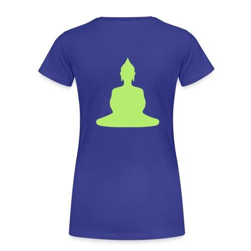 Buddha Woman Back - Frauen Premium T-Shirt