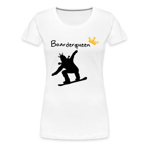 Boarderqueen - Frauen Premium T-Shirt